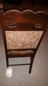 Antique dining chairs set of 6 Cornwall Ontario image 2