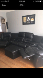 Theatre style couch