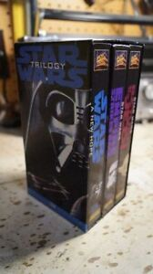 Vintage Classic Star Wars Trilogy VHS *Original Version*