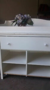 Baby Change Table and Dresser Combo