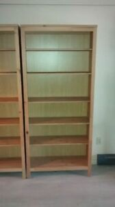 ** Solid Wood Bookcases **
