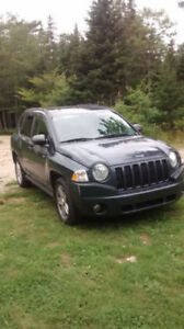 LOW KMS! NEW TIRES & TRANS! MVI Good til MAY! 2008 Jeep Compass