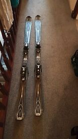Rossignol zenith skis 162cm with boots size 28.5