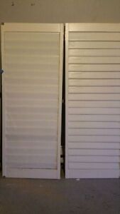 CALIFORNIA SHUTTERS: 3.5 INCH WIDE, VERY GOOD CONDITION: $750
