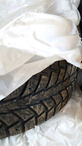 4 Studded Winter Tires - P195/65R15