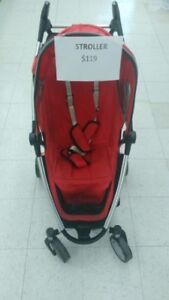 (37) Quinny stand stroller $120