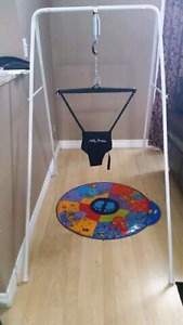 Jolly Jumper on a Stand with Musical Mat 2 months old like new