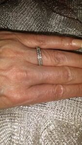 Anniversary/Wedding Band 36 Round Brilliant Cut Diamonds In 14kt