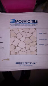 "Brand new 13""x13"" sheets of mosaic tiles"