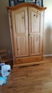 Pine Armoire for Sale