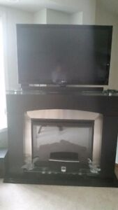 Dimplex Fireplace (with heater) TV Stand