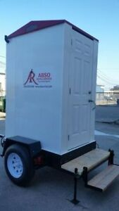 Portable Washroom on a 10' Trailer for Rent! Peterborough Peterborough Area image 2