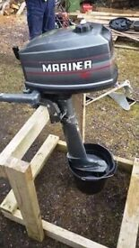 Mariner 4hp Outboard Engine
