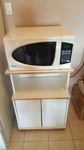 Danby microwave and stand