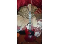 Westfield SG & Hohner Arbor Les Paul (with upgrades)