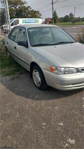 2000 Toyota Corolla LE RUNS AND DRIVES AS-IS DEAL NO RUST