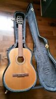 La Patrie Classical Guitar with Hard Case Made in Quebec Canada
