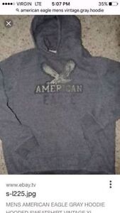 In search of Gray American Eagle Hoodie