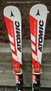 Skis Atomic Race Youth Size 90 cm in excellent condition w/ Atom