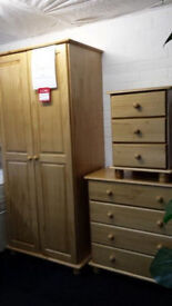 NEW CLEARANCE Ready made Golden Solid Pine set