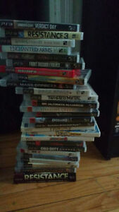 Various PS3 Games - Fallout, Mass Effect, Overlord 2, etc