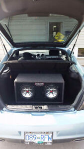 Subwoofers in box. PRICE NEGOTIABLE!