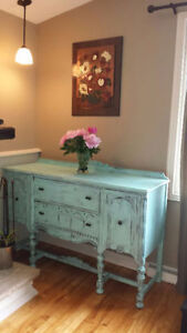 """Antique Shabby Chic Buffet -  Buffet Antique """"Shabby Chic"""""""