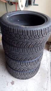 3 pneus d'hiver Nord Frost 225\45R17
