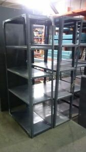 USED - VARIOUS SIZING Bolt Together Steel Shelving