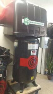 NEW 5hp 230v 1ph Chicago Pneumatic Silent Piston Air Compressor-IN STOCK!!!