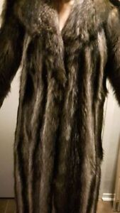 Ladies Real Fur Coat