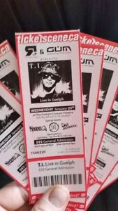 T.I. LIVE IN CONCERT tickets **GREAT CHRISTMAS GIFT**