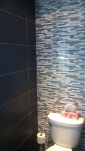 Affordable Services: Backsplashes, Flooring & Feature Wall