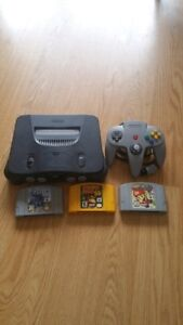 Nintendo 64 with 3 games and Expansion Pack