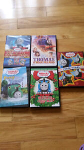 7 Gently Used Thomas the Tank Engine DVD's