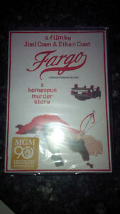 Unopened Fargo DVD, original movie