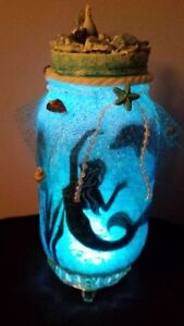 GET IT NOW! MERMAID IN A JAR HAND CRAFTED ONE OF A KIND Cambridge Kitchener Area image 3