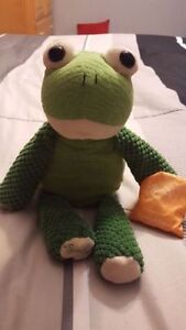 Scentsy Ribbert the Frog buddy with scent pack sun-kissed citrus