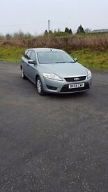 Ford mondeo estate 2008 125bhp 6 speed 1.8 tdci model, air con, anti stall technology, can deliver