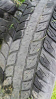 Set of 4 Truck Tires and Rims