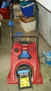 New Price - Toro Snowblower