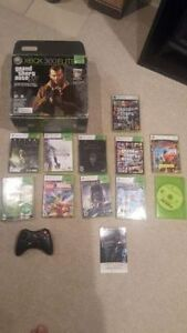 GREAT DEAL! XBOX Elite 360,250 GB, 2 controllers and 10 games
