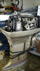 Evinrude Outboard 55 HP Good Condition !!! Kitchener / Waterloo Kitchener Area image 4