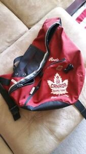 Roots '02 Olympic Team Canada Shoulder Pack / Backpack