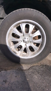 "6 bolt Chevy gmc 20"" rims and tires"