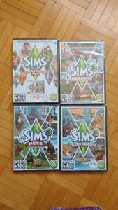 Sims 3 Collection Base Game + 4 Expansion packs