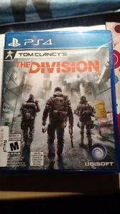 The Division sur PS4 neuf!!