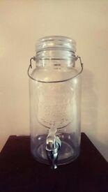 4 Litre Kilner Jar Drink Dispenser
