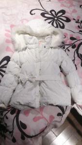 Manteau fillette 4-5 ans
