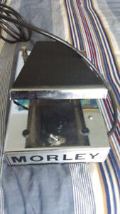 Morley Power Wah pedal for guitar/bass, vintage